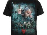 Vikings – Battle – Men's Black T-Shirt