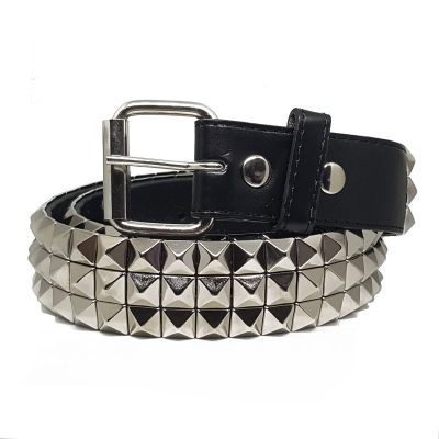 Unisex Studded Leather Belt