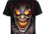 Fright Night Men's Black Clown T-Shirt
