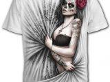 Dead Love Men's White Skull T-Shirt
