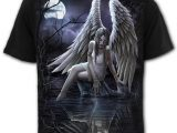 Inner Sorrow Men's Black Angel T-Shirt