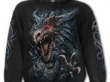 Dragon's Lair Men's Black Hoodie