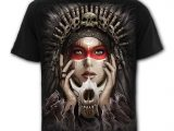 Cry Of The Wolf Men's Black Skull T-Shirt