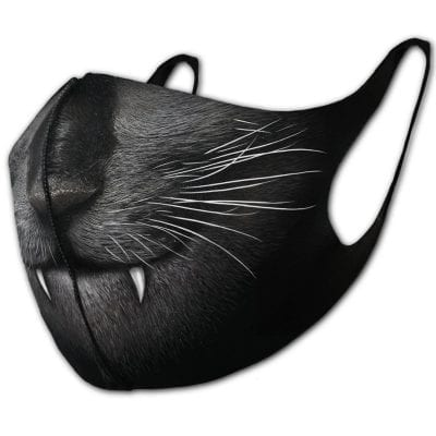 Cat Fang Face Mask
