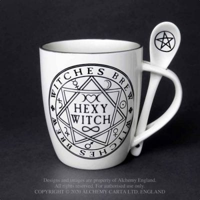 Alchemy Gothic Witch Mug Gift Set