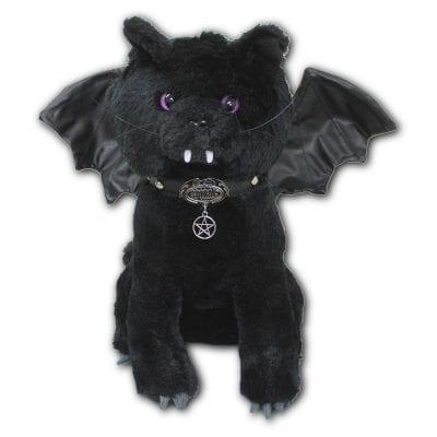 Bat Cat Gothic Plush Doll